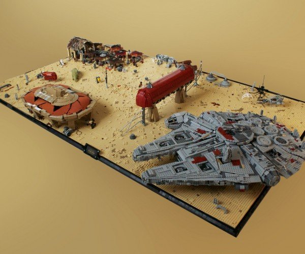 Star Wars: Episode VII's Niima Outpost in LEGO