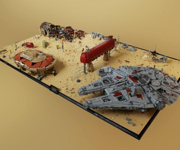 Star Wars: Episode VII's Niima Outpost in LEGO