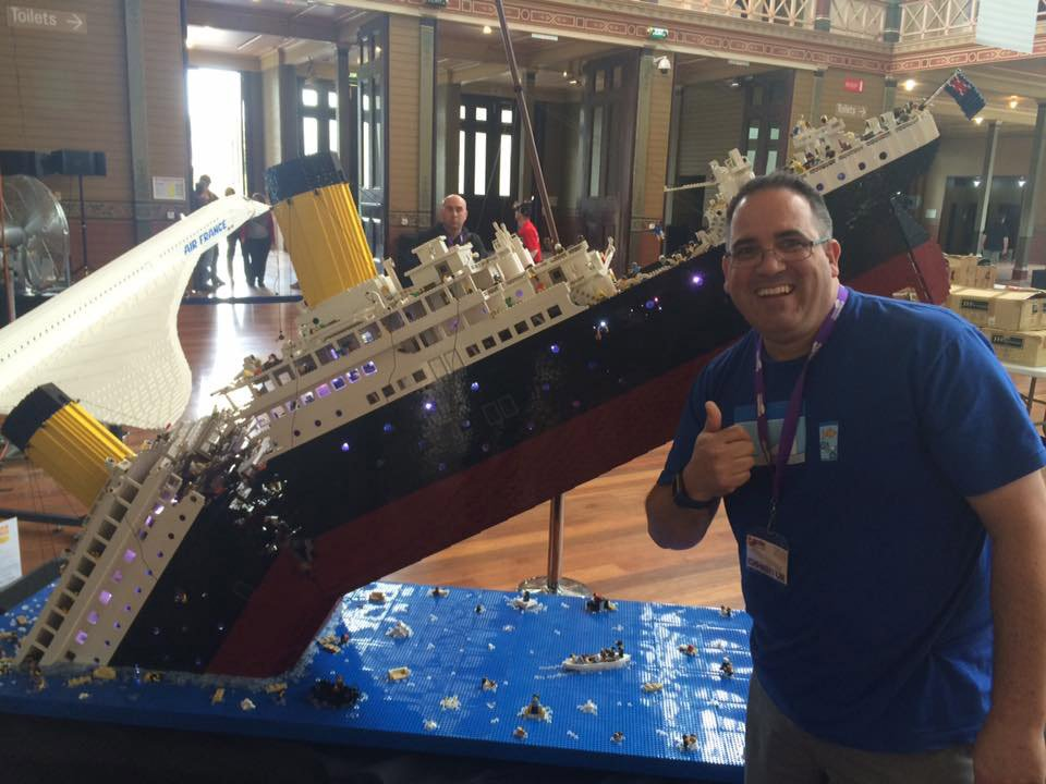 Titanic Disaster Model in LEGO: I'm the Minifig of the ...