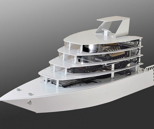 Lian Li's Odyssey PC Case Looks Like a Yacht: Poseidon, Look at This