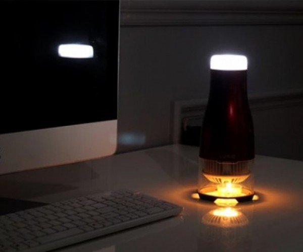 This LED Lamp Is Powered by a Tiny Candle