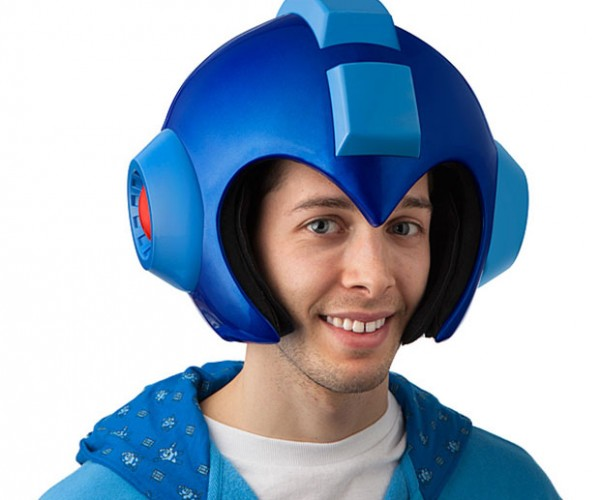 Wearable Mega Man Helmet: No F*cks Man