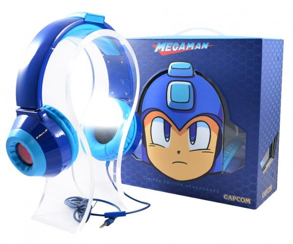 Mega Man Headphones: Rock & Roll Man