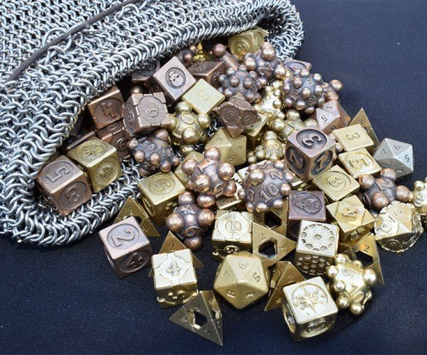 Beautiful Cast Metal Gaming Dice: This Is How I Roll