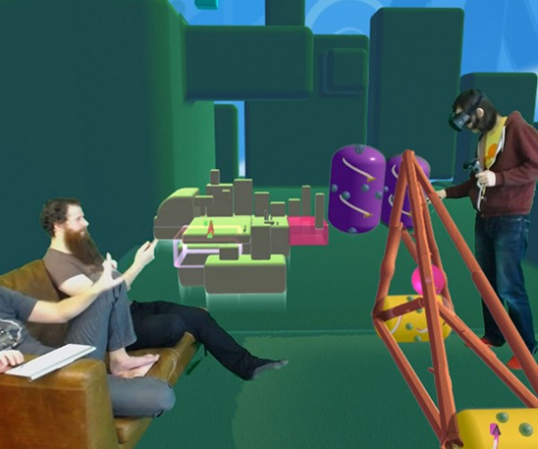Showing Virtual Reality Games in 2D Video: Mixed Reality