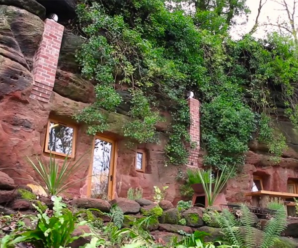 Guy Makes $230,000 House out of 700 Year-Old Cave