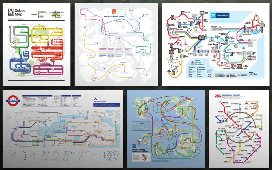 Warriors Subway Map.Nes Retro Subway Maps Dc Metroid