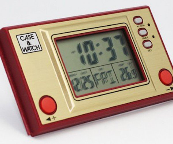 Case & Watch Famicom Clock: Choptimer
