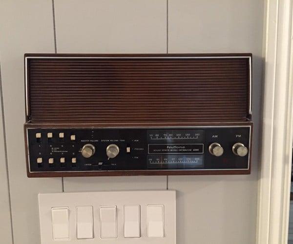 '70s Intercom Raspberry Pi Multi-room Audio Mod: Home Reautomation