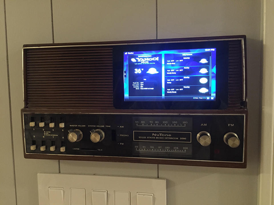 '70s Intercom Raspberry Pi Multi-room Audio Mod: Home