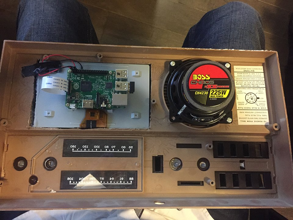 70s Intercom Raspberry Pi Multi-room Audio Mod: Home
