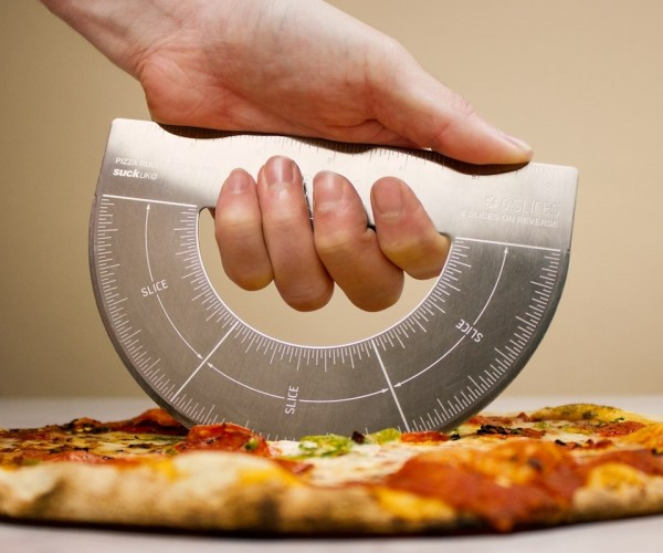 Protractor Pizza Cutter: Divide and Conquer