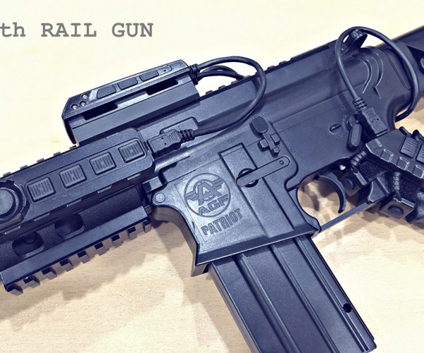 Rail Gun Lets You Use Airsoft Guns to Play FPS Games: Gunception