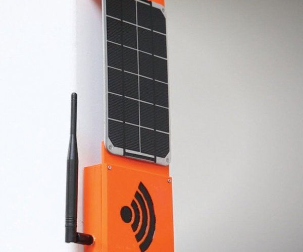 SparkFun Rogue Router Solar-powered File Server Lives, Dies, Lives Again
