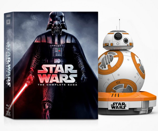 Win a Sphero BB-8 and Star Wars: The Complete Saga on Blu-ray!