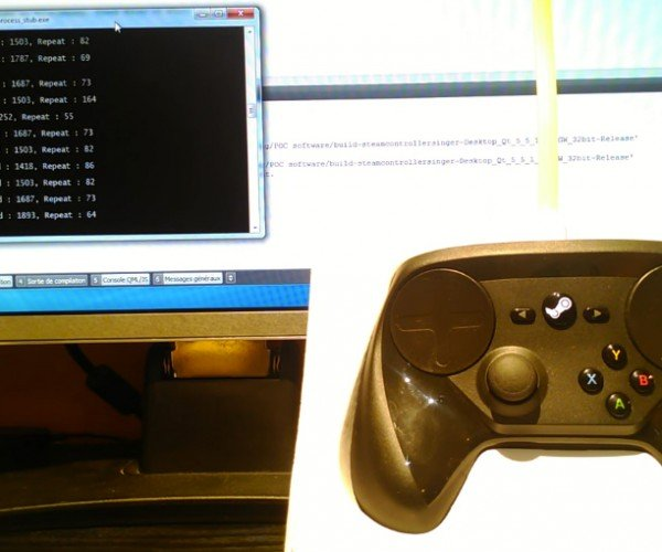 Steam Controller's Haptic Motors Used to Play Music: Shake It Off