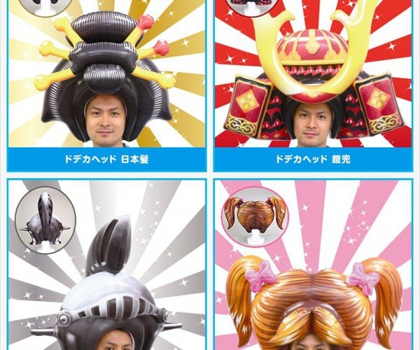 Dodeca Head Inflatable Helmet Costume: Airstyles
