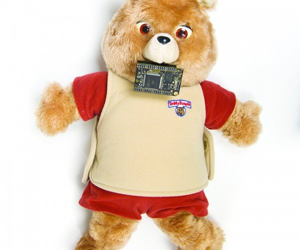 DIY Text-to-Speech Teddy Ruxpin: Creepy Ruxpin