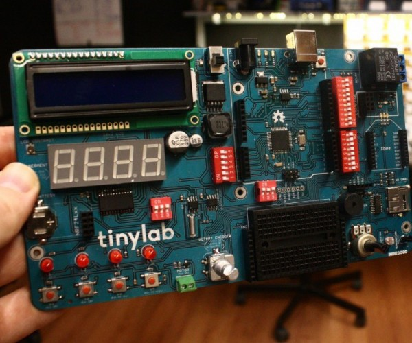 TinyLab Arduino-based Prototyping Board: Test a Sketch