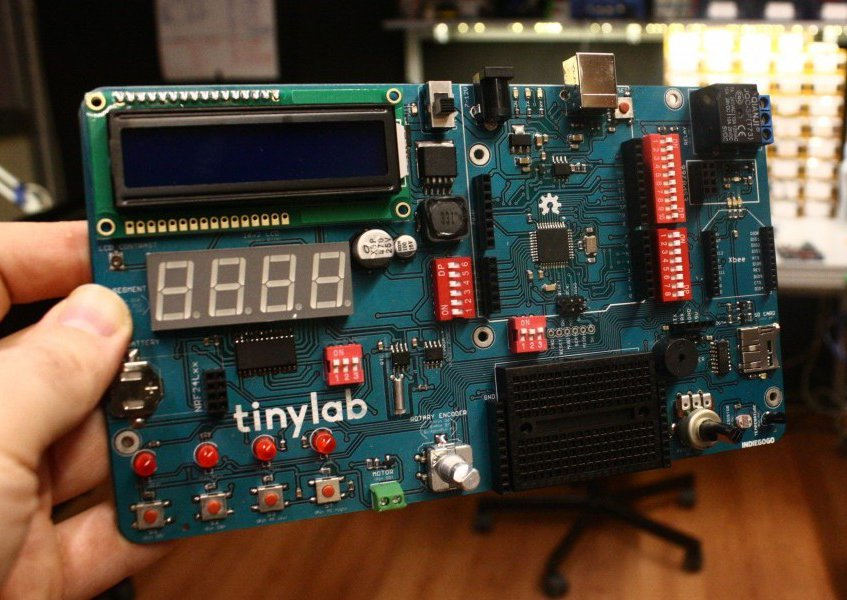 Tinylab Arduino-based Prototyping Board  Test A Sketch