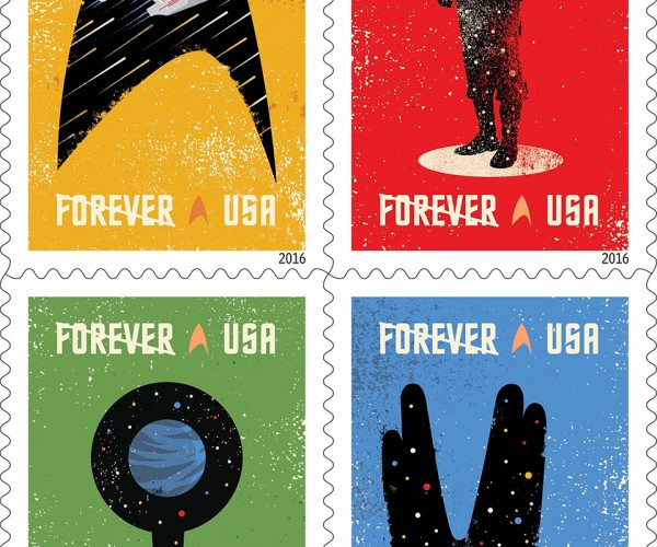 Star Trek Stamps Celebrate 50th Anniversary: Mail the Final Frontier