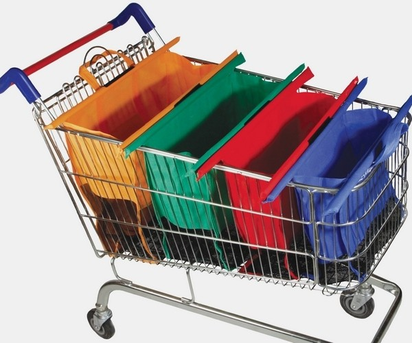 "Shopping Cart Trolley Bags: File under ""G"" for Groceries"