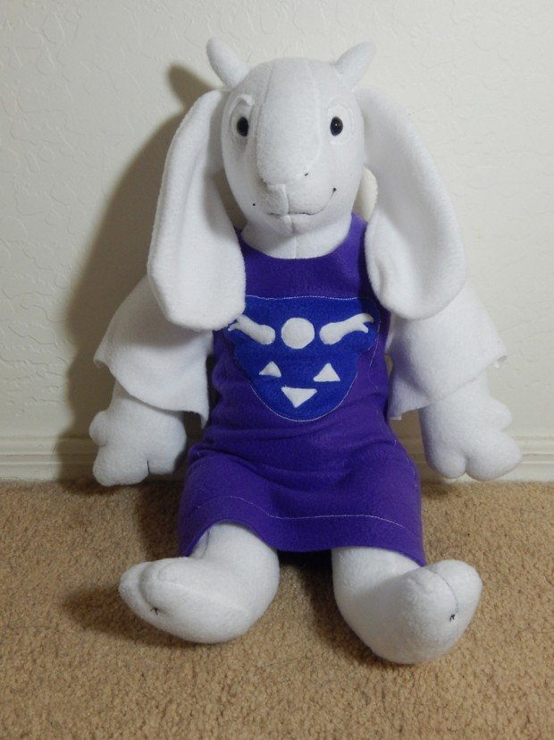 Undertale Toriel Plush Toy Hug Me My Child