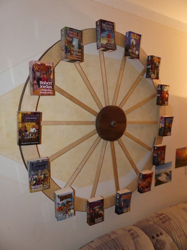 The Wheel Of Time Bookshelf Round The Clock Reading Material