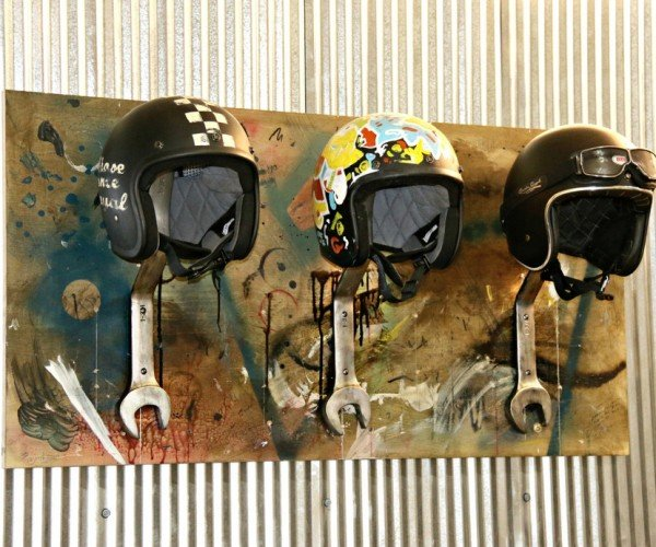 Wrench Motorcycle Helmets: Tool Rack