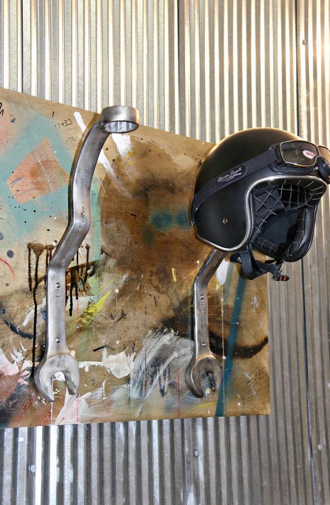 Wrench Motorcycle Helmets Tool Rack