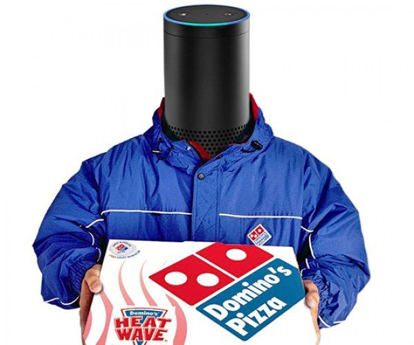 Alexa Can Now Order a Pizza from Domino's