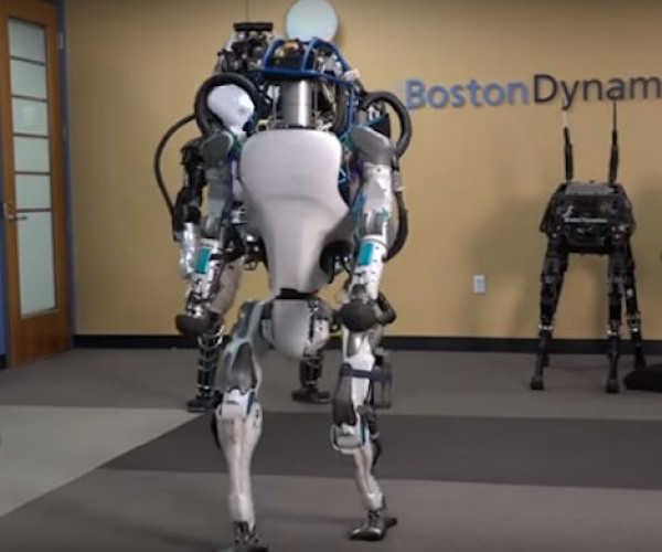 Boston Dynamics ATLAS Robot Gets an Upgrade
