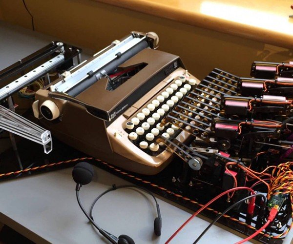 Automated Voice Recognition Typewriter: Secretary Cortana