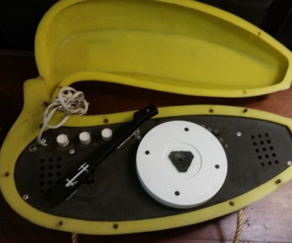 The Banana Stereo Record Player is Bananas