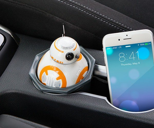 Star Wars BB-8 USB Car Charger: Powered by Droid