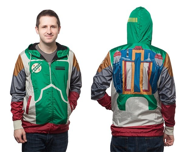 Star Wars Boba Fett Windbreaker Jacket: Mandalorian Mode