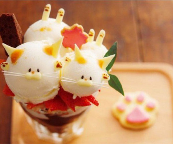 Kyoto Café Offers Cat Parfaits: Catfaits
