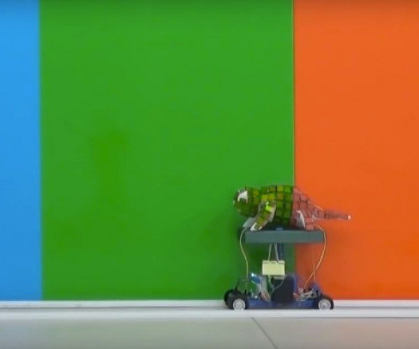 This Chameleon Robot Blends in With Its Background