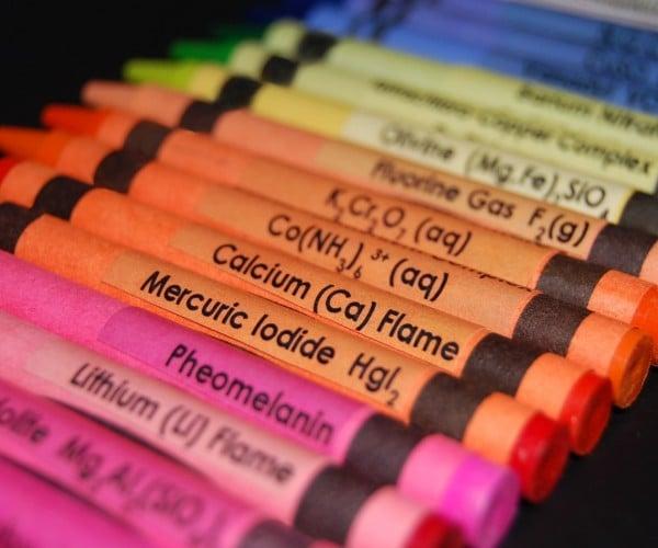 Chemistry Crayon Labels: Writin' Nerdy