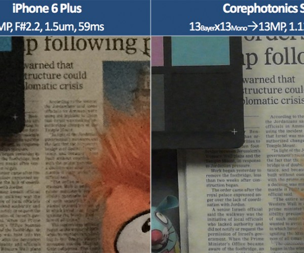 Corephotonics Dual Camera for Smartphones: Hitting One Bird with Two Stones