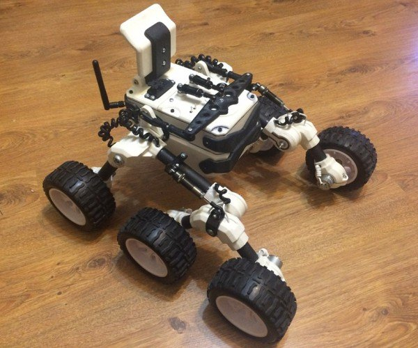 DIY RC Rover: All Extra-Terrestrial Terrain Vehicle