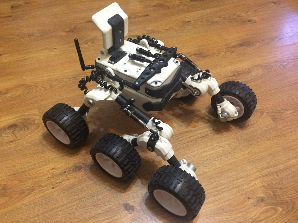 Diy Rc Rover All Extra Terrestrial Terrain Vehicle