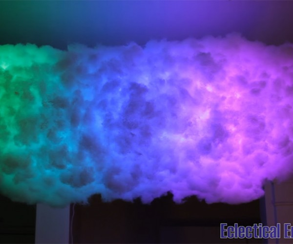 DIY Bluetooth LED Cloud Lamp: Cumulocheapus