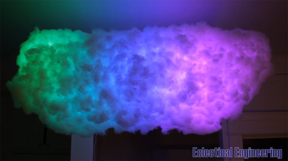 Diy Bluetooth Led Cloud Lamp Cumulocheapus Technabob