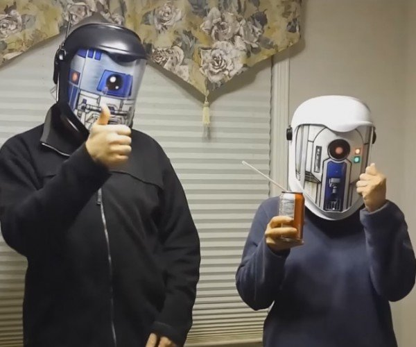 DIY Star Wars Droid Translator Helmets: All Bleeped out