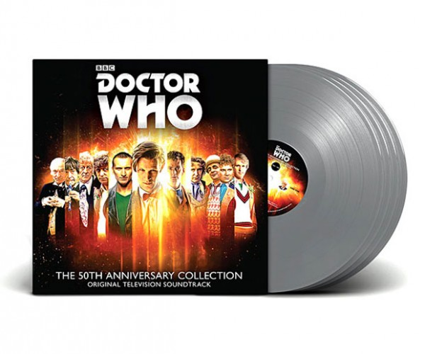 Doctor Who 50th Anniversary Vinyl Record Box Set: Rounder on the Inside