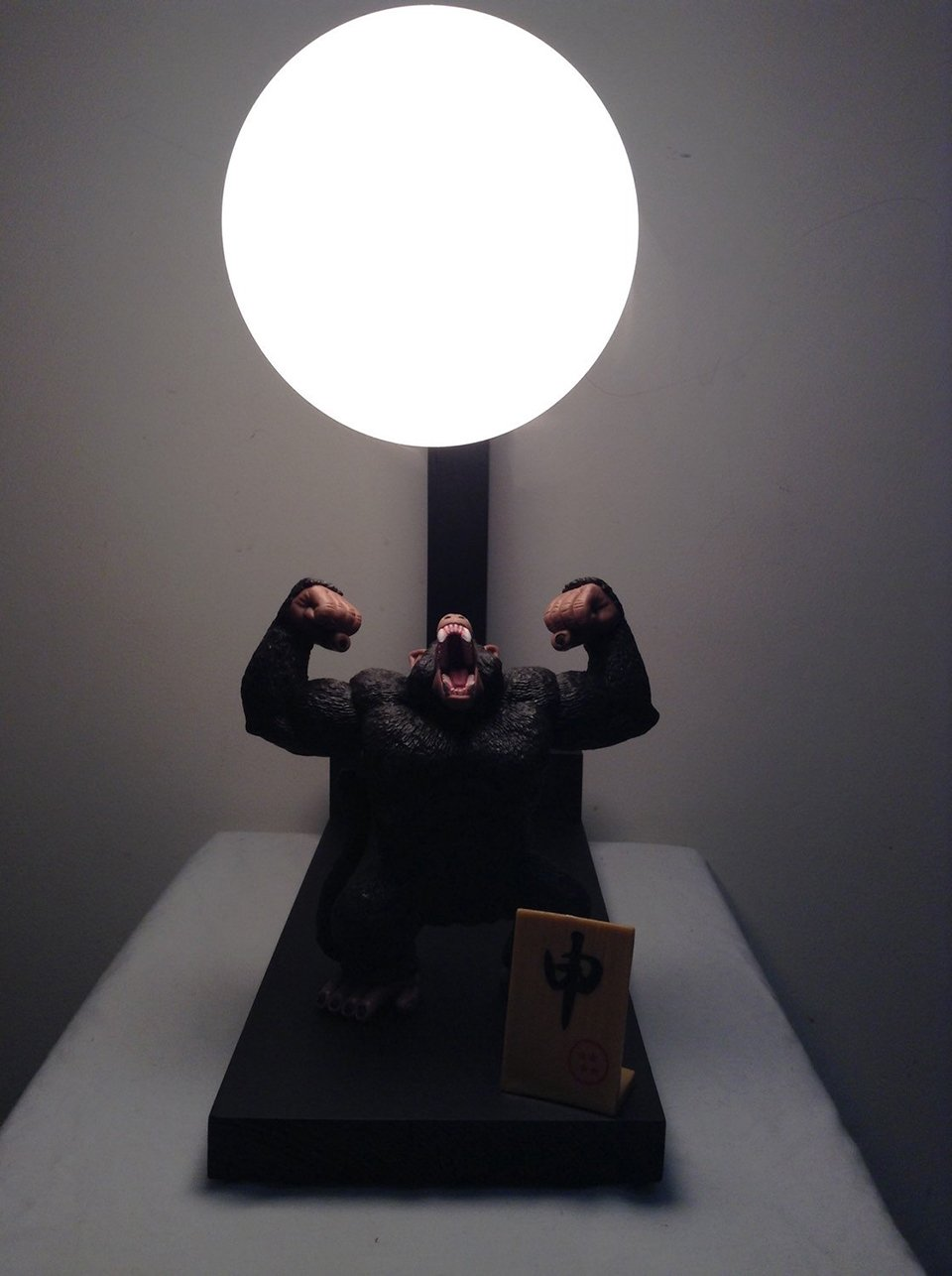 Wooden Lamp Stand Designs : Dragon ball z action figure lamps lamelamelaaaamp