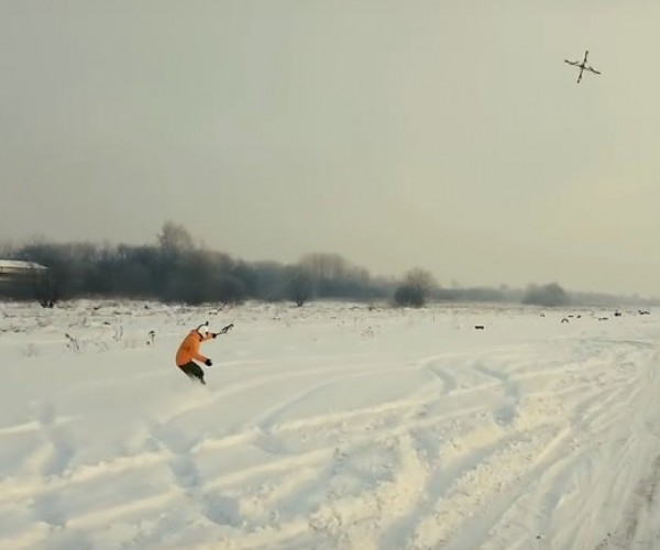 Droneboarding is the New Snowboarding