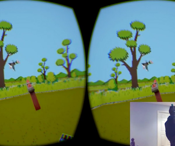 Duck Hunt Zapped to Virtual Reality: Where's Your Screen Cheat Now?