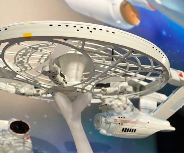 Star Trek USS Enterprise Drone: The FAA: The Final Frontier